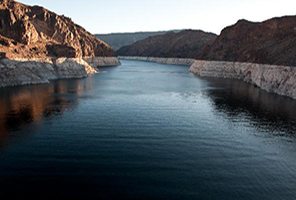 The Colorado River Basin lost nearly 53 million acre feet of freshwater over the past nine years, according to a new study based on data from NASA's GRACE mission. This is almost double the volume of the nation's largest reservoir, Nevada's Lake Mead. Image Credit: U.S. Bureau of Reclamation