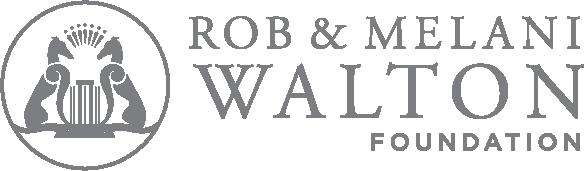 Rob and Melani Walton Foundation logo