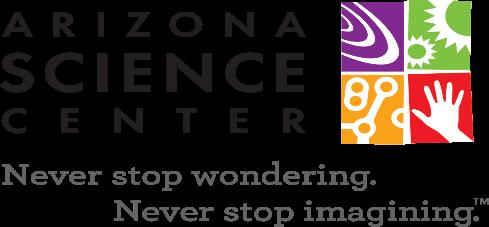 Arizona Science Center + ASU partnership logo