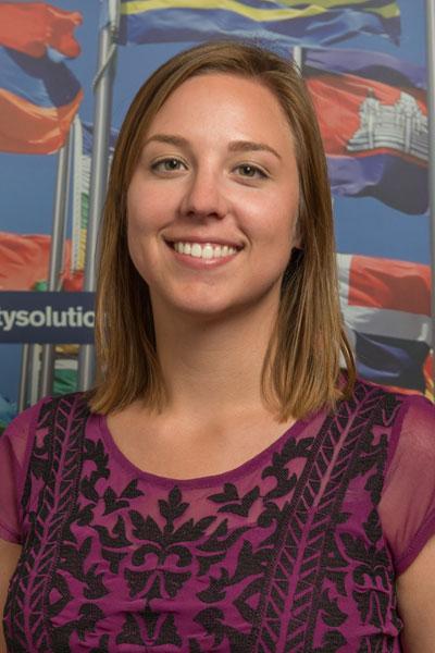 Amy Bergley - UK & Denmark student