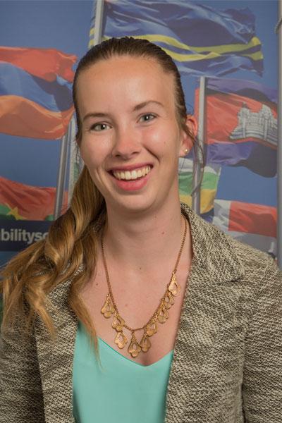 Anna Brophy - London & Paris student