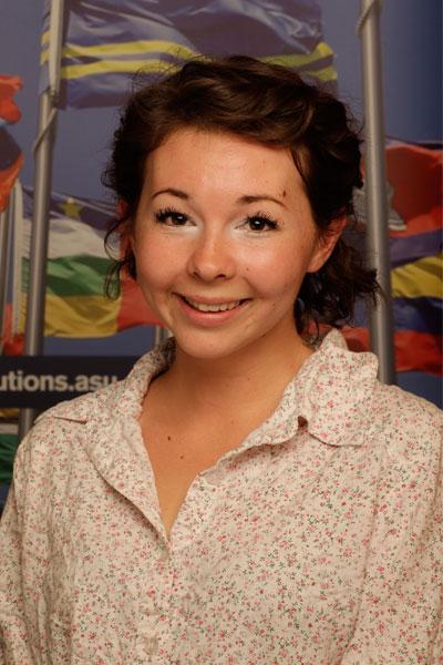 Brynn Szukala - Nepal student