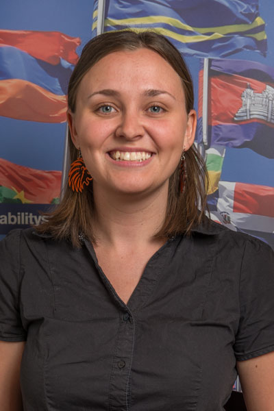 Danielle Chipman - South Africa student