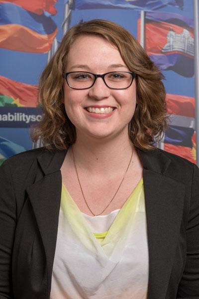 Danielle Jordan - Nepal student