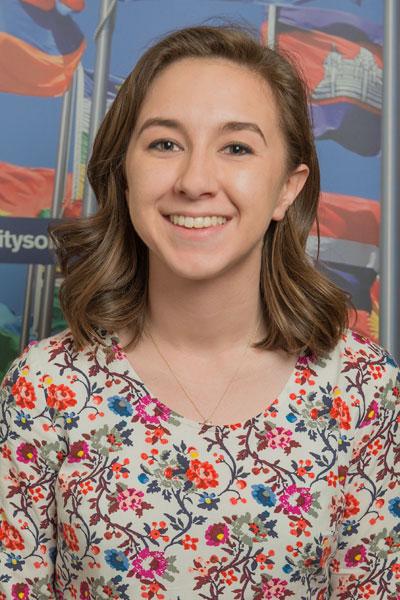 Rachel Hudgens - Nepal student