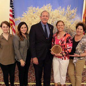 Sustainable Cities Network receives Ponderosa Pine Partnership Award