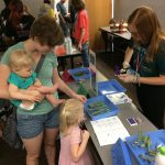 Family at Trees matter event