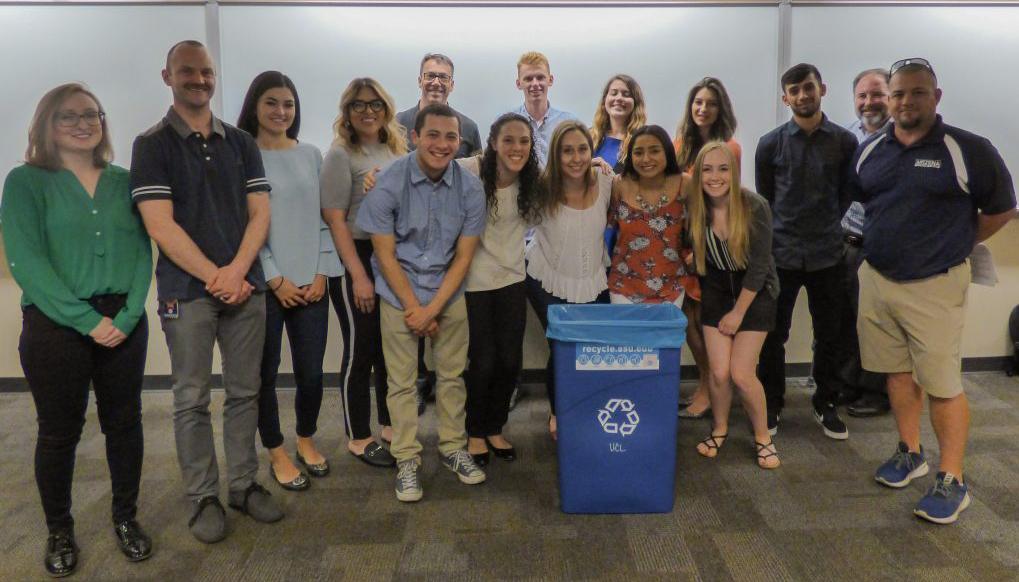 Zero Waste for the Arizona State Fair group photo