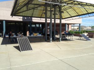 Solar Power Showcase at Desert Vista's Green Apple Day of Service