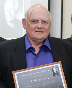 Tony Brazel Awarded Jeffrey Cook Prize!