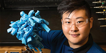 Student Saves Gloves From Landfill