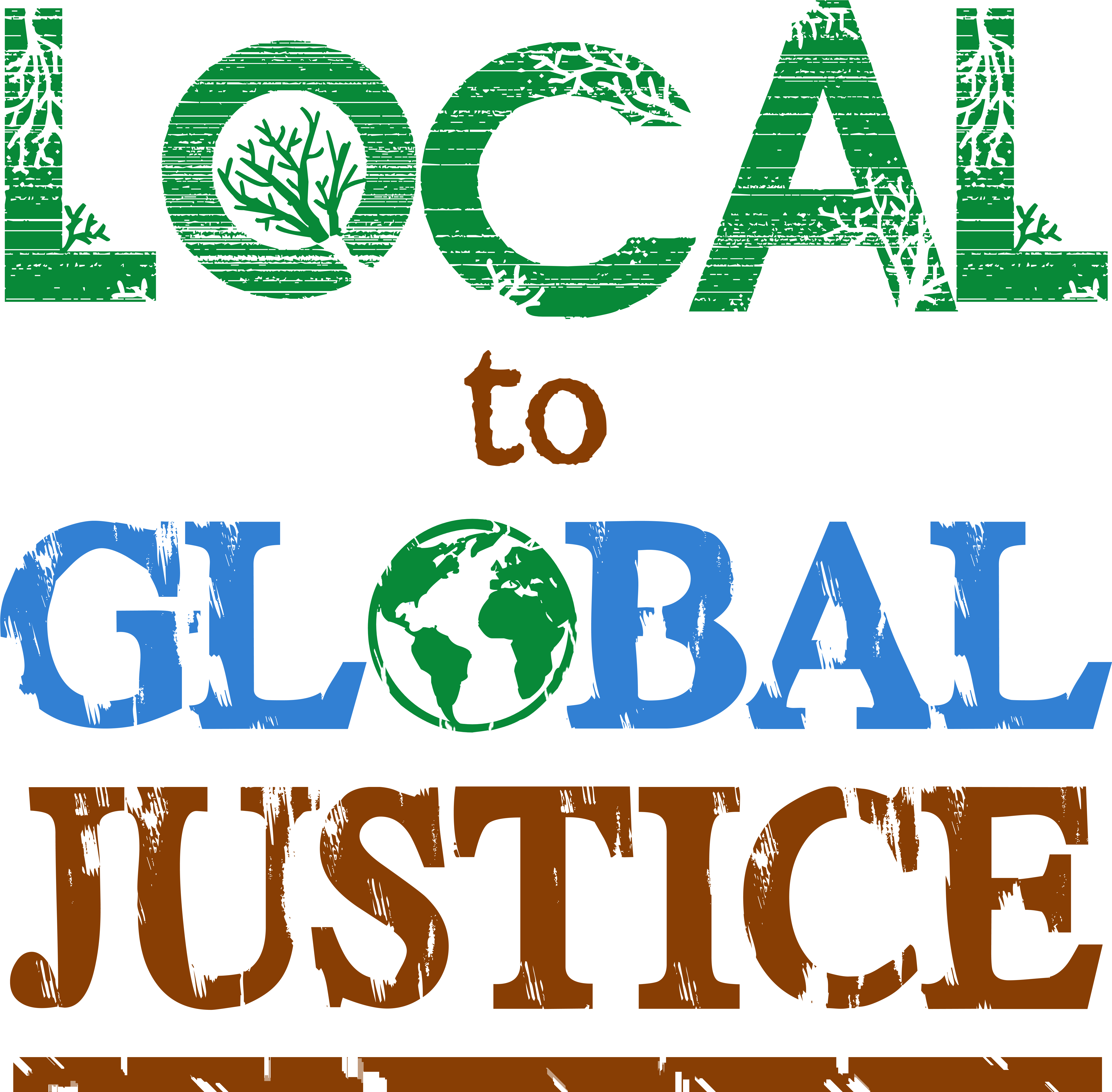 Local to Global Justice Forum & Festival logo