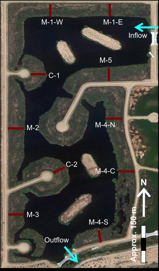tres rios site map