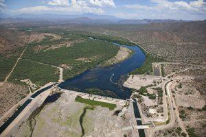 Granite Reef diversion dam