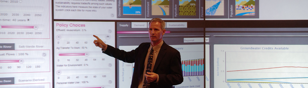 Dave White - WaterSim in Decision Theater