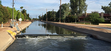 Urban Water Canal
