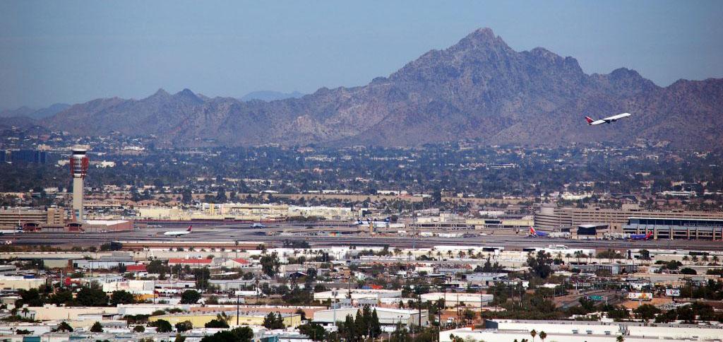 WaterSim Phoenix SkyHarborAirport