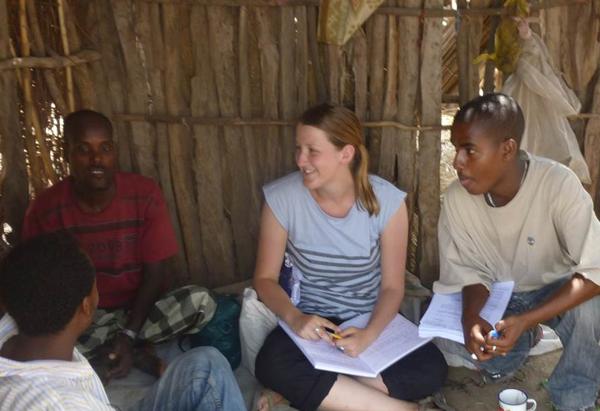 Post-doctoral Fellow Jenny Hodbod