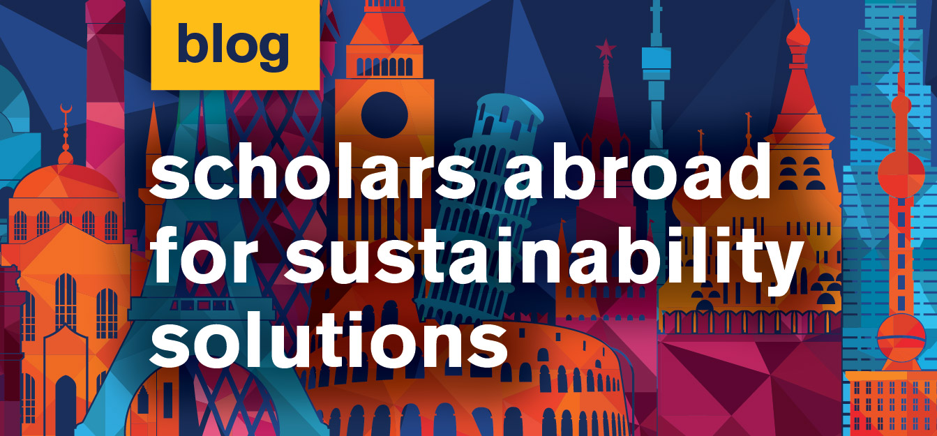 Scholars Abroad for Sustainability Studies student blog