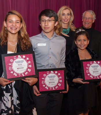 Future City winners at the Sustainability Solutions Celebration