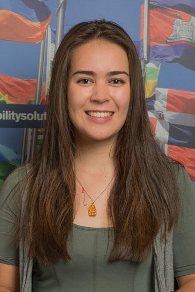 Anna Kristjansen - Nepal student