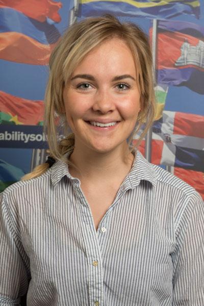 Grace Strasser - UK & Denmark student