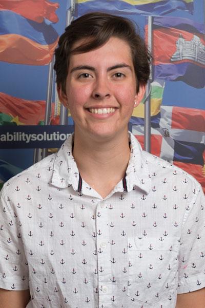 Jessie Davidson - South Africa student