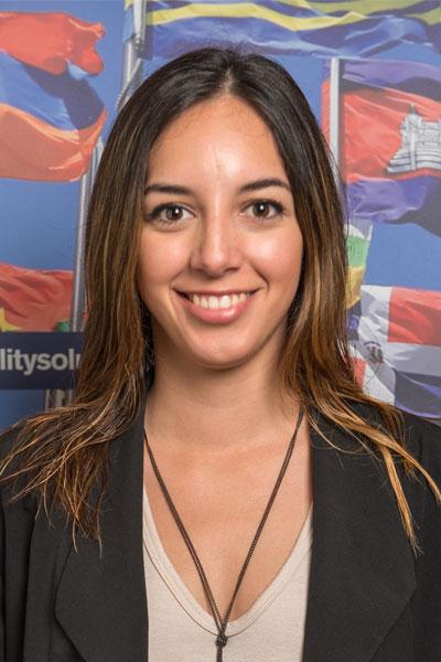Olga Borquez - Hong Kong student