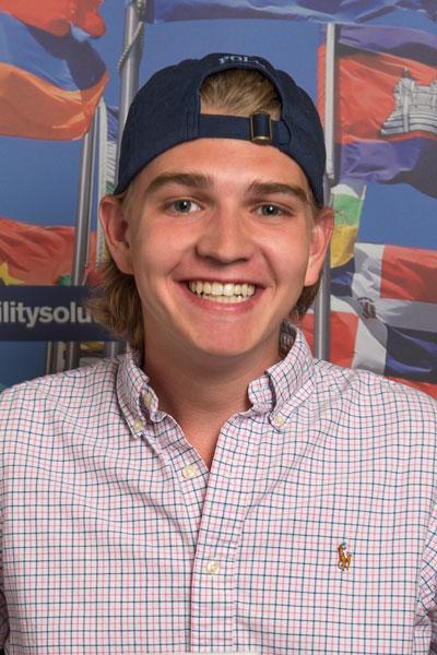 Reid Mertens - South Africa student
