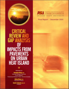 New Report on Pavement and Urban Heat Islands
