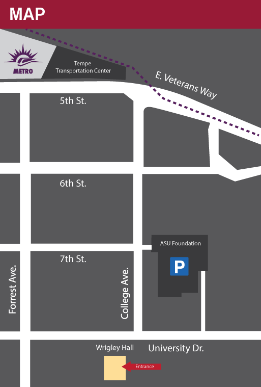 Directions to Wrigley Hall