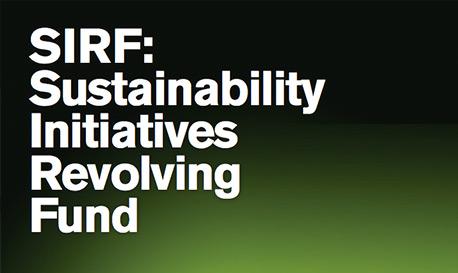 Sustainability Initiatives Revolving Fund
