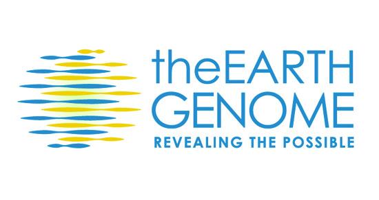 The Earth Genome logo