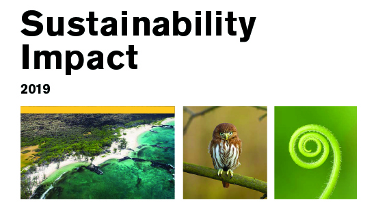 Sustainability Impact 2019