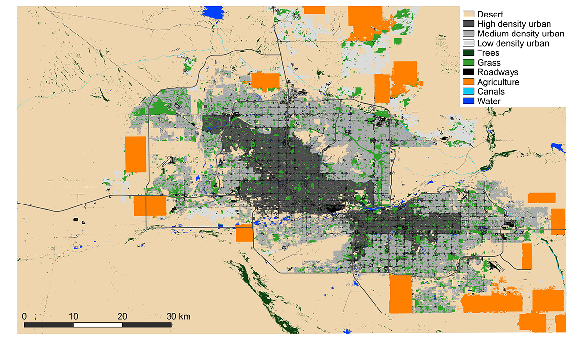 Regional Land Use and Land Cover Map